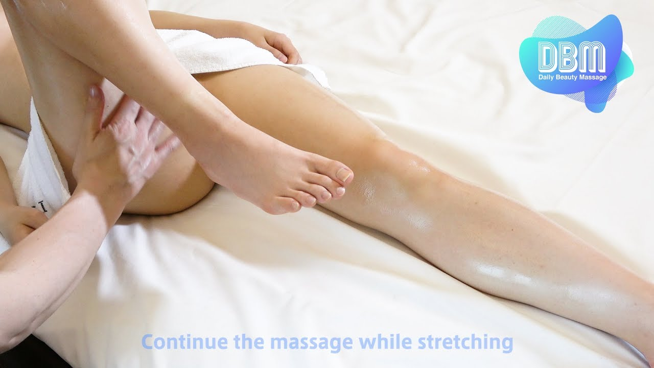 Massage and Stretch for Legs