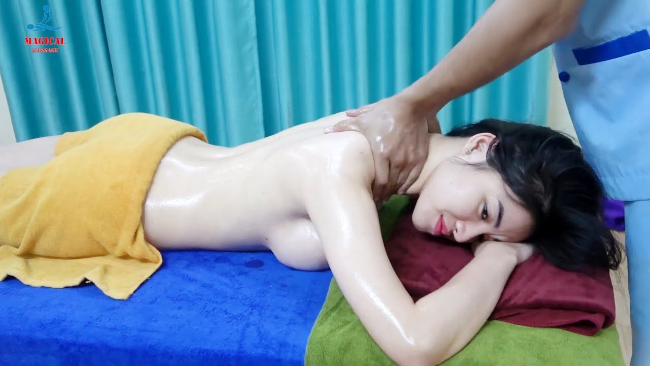 Massage Coconut Oil Relaxing Muscle to Relieving Stress Full Legs and Foots ( Magical Massage ) #76