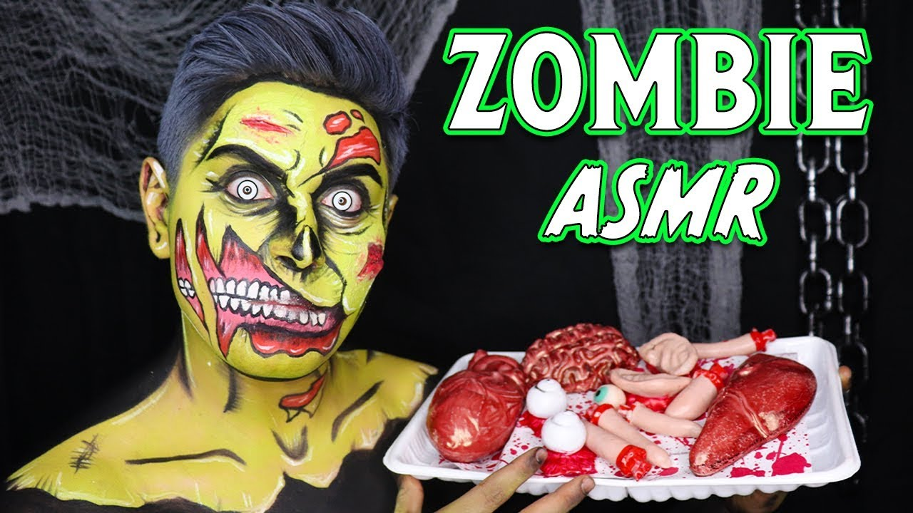 ASMR _ Zombie Welcomes You to His Graveyard! (Brain Eating & KILLER Tingles!)
