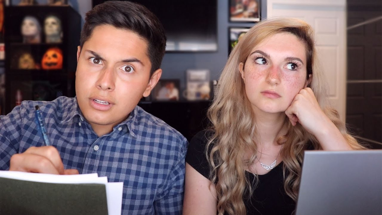 ASMR _ Married Couple Argues Over Finances